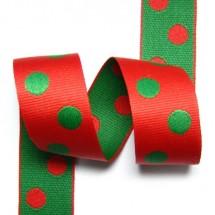 <미국>빨강/초록 큰땡땡이(골직자카드)