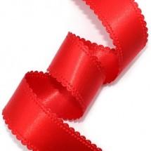 빨강색/양면 공단(초음파리본)