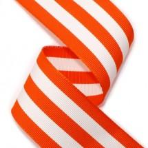 <미국>오렌지/흰색(골직스트라이프)