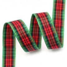 초록빨강톤/초록라인 검정혼합줄(체크)