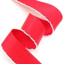 빨강/무광양면(한쪽스티치피코트)