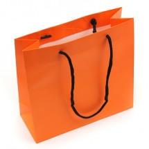 오렌지/컬러무지(쇼핑백)