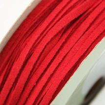빨강/스웨이드끈(샤무드)