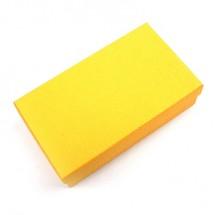 노랑/구김지 직사각 상자