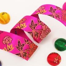 체리/꽃무늬한복(원단리본)
