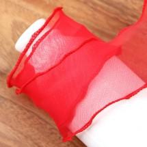 빨강/노방 인터로크(원단리본)