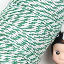 초록/양색 트와인(꽈배기)
