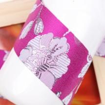 체리/전통 산약초꽃무늬(원단리본)