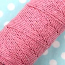 핑크/단색 트와인(꽈배기)