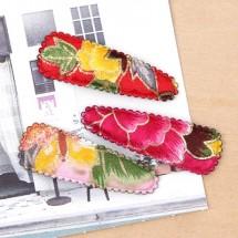 매화꽃 똑딱핀