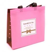 핑크/심플스페셜 부직포(쇼핑백)