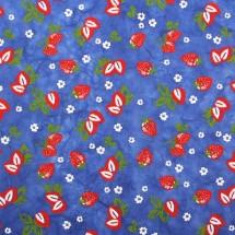 파랑/딸기(무늬한지)