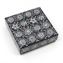 꽃/전통자개 단합 정사각상자