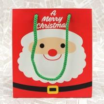 빨강/미니미 크리스마스 쇼핑백(도시락형)