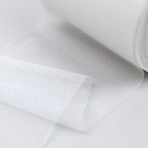흰색/육각망사(원단리본)