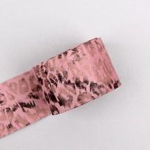 핑크색/투톤호피(원단리본)