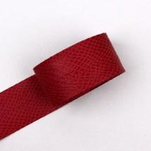 빨강색/베이직파이톤(원단리본)