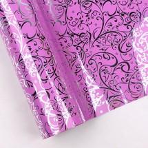 핑크색/덩쿨무늬(롤증착지)