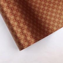 자주색/전통무늬(롤포장지)