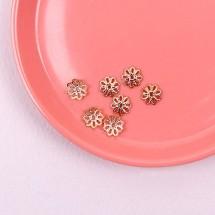 (특大)T핀받침꽃-10개(금속장식)