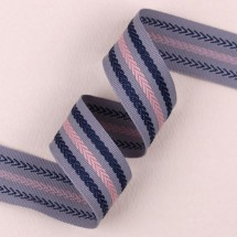 회색/로프패턴 스트라이프(골직줄무늬)