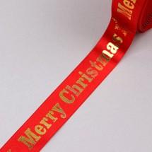 빨강색/금박크리스마스빅폰트(크리스마스리본)
