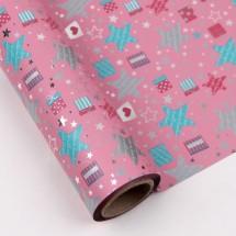 핑크색/별빛선물상자(롤증착지)