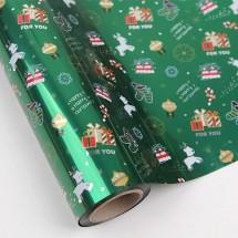초록색/루돌프와크리스마스(롤증착지)