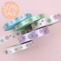 [50%할인]네잎봄꽃(공단프린트)