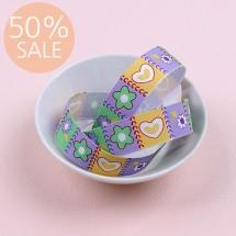 [50%할인]하트와꽃(골직프린트)