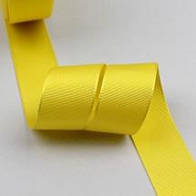 노랑색(평직리본)