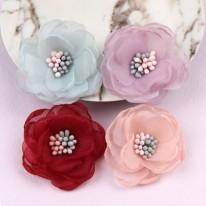 노방투톤꽃(원단장식)