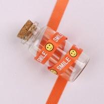 주황색/스마일SMILE(골직프린트)