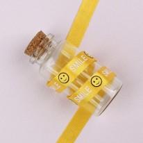 노랑색/스마일SMILE(골직프린트)