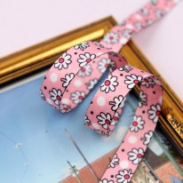 핑크색/접시꽃(양면전사프린트)