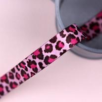 핑크색/투톤호피(양면전사프린트)