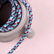 파랑흰색빨강/파라코드끈