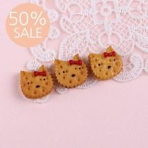 [50%할인]쿠키캣플라스틱장식(한개)E5-4
