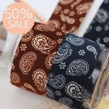 [50%할인]골덴페이즐리(원단리본)