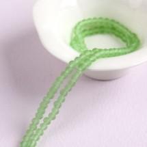 초록색/4mm무광(타원크리스탈)-1줄