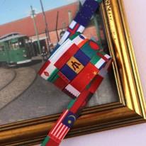 만국기/국기(양면전사프린트)